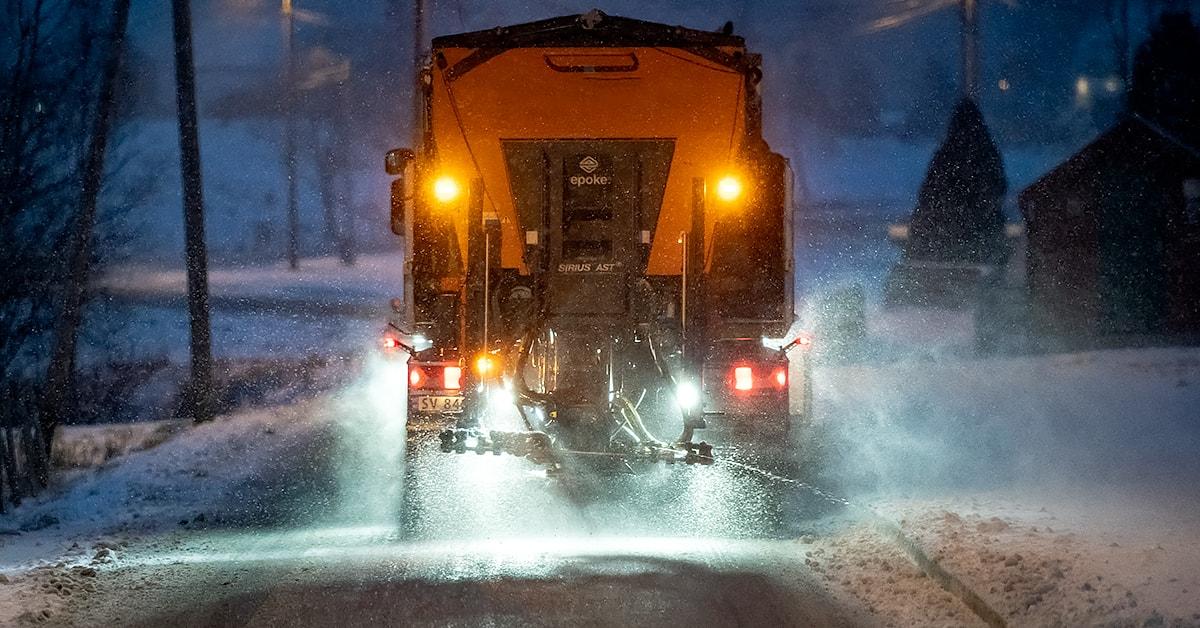 Salt på veiene i Bergensregionen